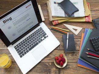 create blog using sitegalore