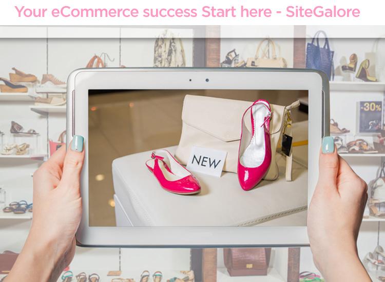 setup sitegalore e-commerce website