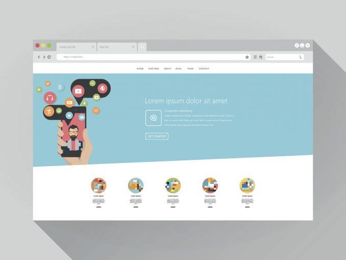 Browser-Based Website Builder