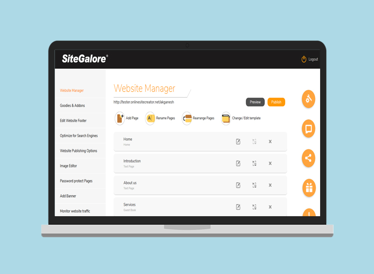 A Fully Responsive and Modern looking Admin Panel!