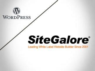 SiteGalore Vs Wordpress