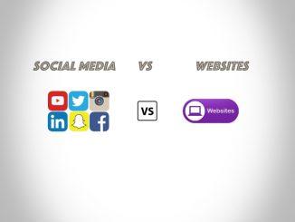 Social Media Vs Websites
