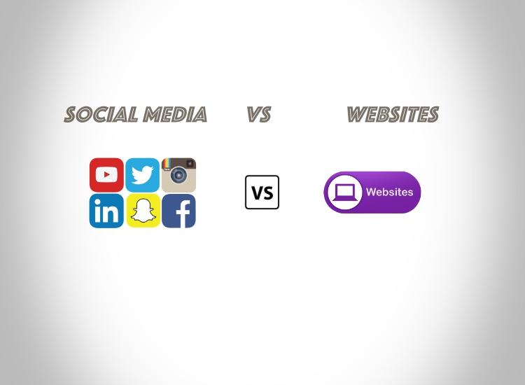 Direct Face-off – Social Media Vs Websites!