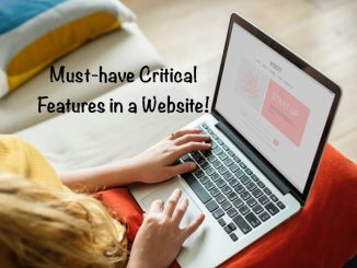Must-have Critical Features in a Website