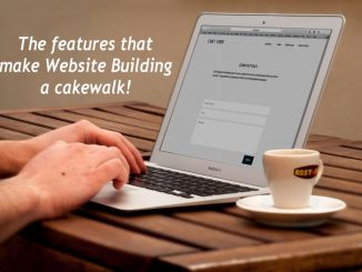 The features that make website building a cakewalk