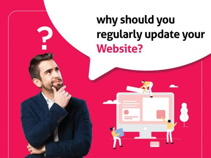 Why should you regularlyupdate your website