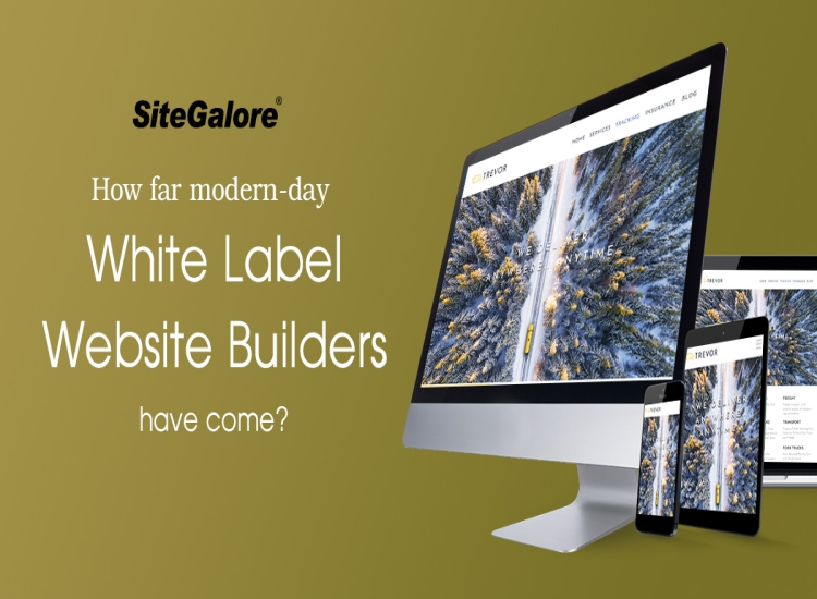 How far modern-day white label website builders have come?