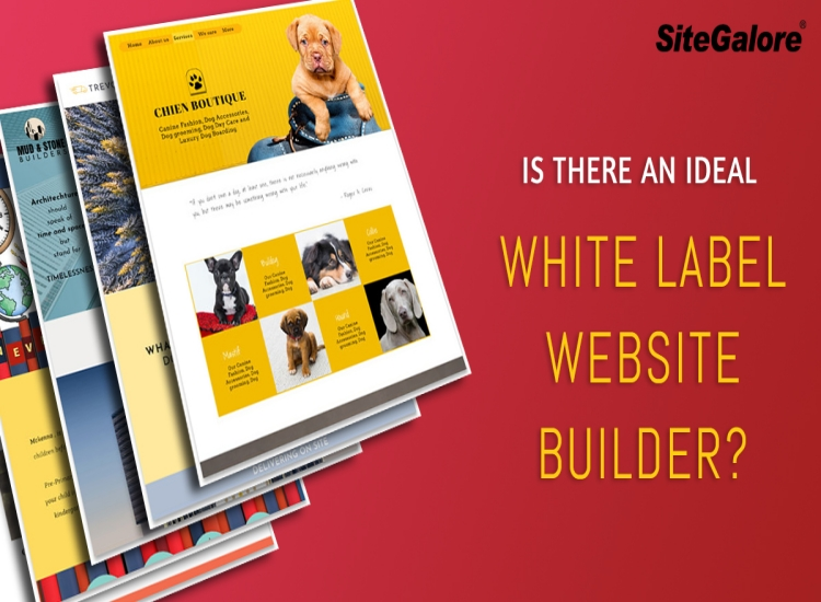 Is there an ideal white label website builder?
