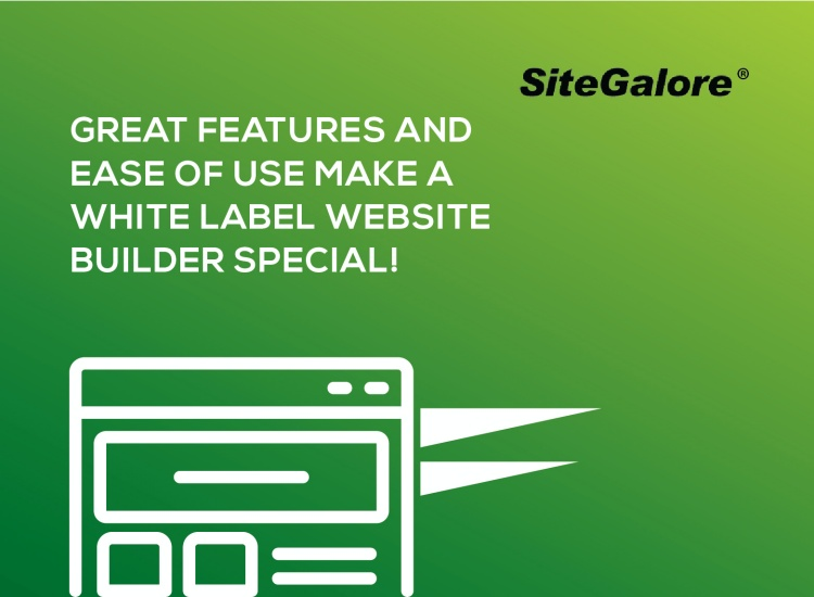 Great Features and Ease of use make a white label website builder special!