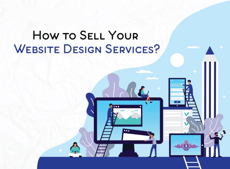 How to sell your website design services?