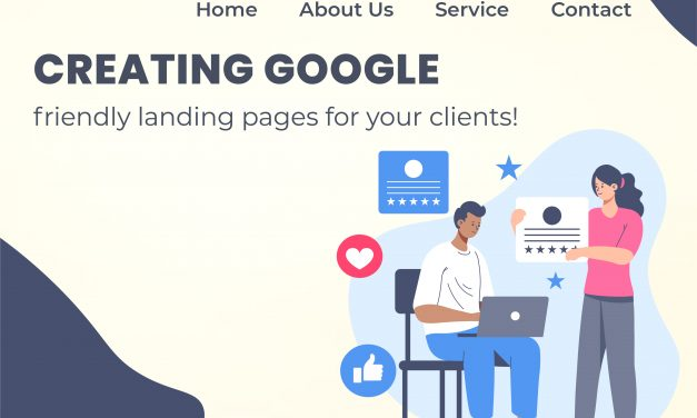 Creating Google-friendly landing pages for your clients!