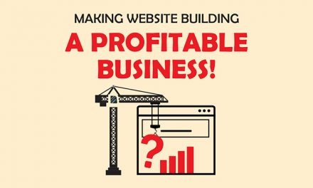 Making website building a profitable business!