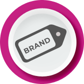 Your branding, logo & name appears fully